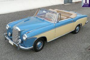 1958 MERCEDES BENZ 220S W180 CONVERTIBILE www.cristianoluzzago.it Brescia italy (2)