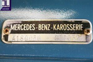 1958 MERCEDES BENZ 220S W180 CONVERTIBILE www.cristianoluzzago.it Brescia italy (57)