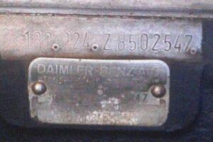 1958 MERCEDES BENZ 220S W180 CONVERTIBILE www.cristianoluzzago.it Brescia italy (61)