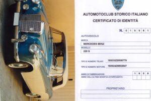1958 MERCEDES BENZ 220S W180 CONVERTIBILE www.cristianoluzzago.it Brescia italy (66)