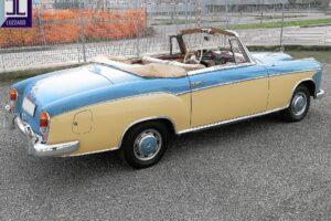 1958 MERCEDES BENZ 220S W180 CONVERTIBILE www.cristianoluzzago.it Brescia italy (7)