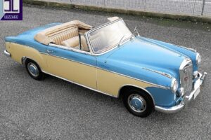 1958 MERCEDES BENZ 220S W180 CONVERTIBILE www.cristianoluzzago.it Brescia italy (8)