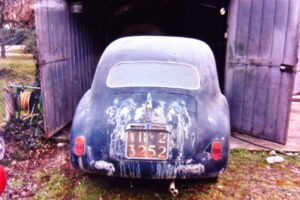 1948 FIAT 1100 VIGNALEbarn find and cleaning (1)