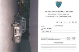 1946 ALFA ROMEO 2500 6C SPORT TOURING SUPERLEGGERA www.cristianoluzzago.it Brescia Italy (47
