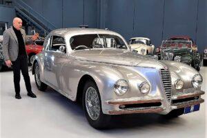 ALFA ROMEO 6C 2500 TOURING CRISTIANO LUZZAGO BACKSTAGE DOCUMENTARY GENTLEMAN DRIVER (1)