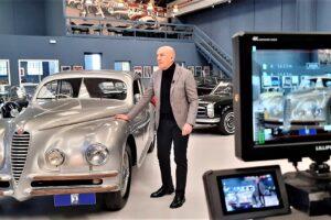 ALFA ROMEO 6C 2500 TOURING CRISTIANO LUZZAGO BACKSTAGE DOCUMENTARY GENTLEMAN DRIVER (7)