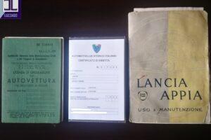 LANCIA APPIA 1a SERIE www.cristianoluzzago.it Brescia Italy (29)