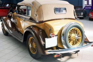 1934 ALFA ROMEO 6C 2300 GRAN TURISMO CABRIOLET CASTAGNA (11)