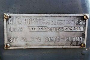 1934 ALFA ROMEO 6C 2300 GRAN TURISMO CABRIOLET CASTAGNA (38)