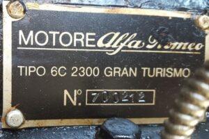 1934 ALFA ROMEO 6C 2300 GRAN TURISMO CABRIOLET CASTAGNA (39)