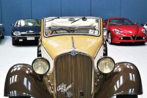 1934 ALFA ROMEO 6C 2300 GRAN TURISMO CABRIOLET CASTAGNA (5)