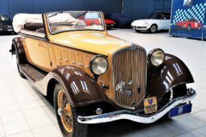 1934 ALFA ROMEO 6C 2300 GRAN TURISMO CABRIOLET CASTAGNA (6)