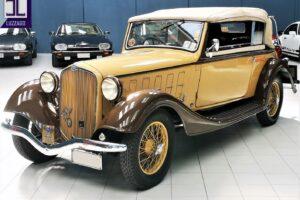 1934 ALFA ROMEO 6C 2300 GRAN TURISMO CABRIOLET CASTAGNA (7)