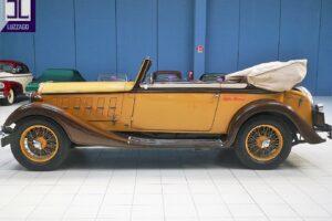 1934 ALFA ROMEO 6C 2300 GRAN TURISMO CABRIOLET CASTAGNA (8)