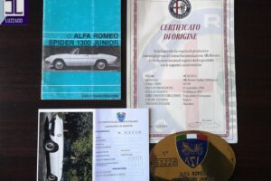 ALFA ROMEO SPIDER 1300 JUNIOR LONG TAIL www.cristianoluzzago.it Brescia italy (63)