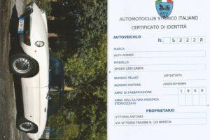 ALFA ROMEO SPIDER 1300 JUNIOR LONG TAIL www.cristianoluzzago.it Brescia italy (65)