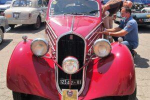 01 VERIFICHE (2)1000 MIGLIA 2021 FIAT 508 BERLINETTA AERODINAMICA CRISTIANO LUZZAGO