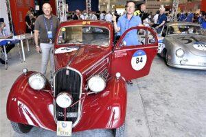 01 VERIFICHE (4)1000 MIGLIA 2021 FIAT 508 BERLINETTA AERODINAMICA CRISTIANO LUZZAGO