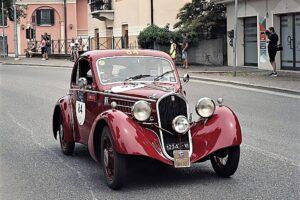 03A PONTEVICO (1)1000 MIGLIA 2021 FIAT 508 BERLINETTA AERODINAMICA CRISTIANO LUZZAGO