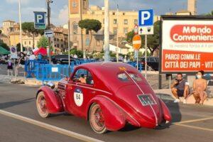 07 VITERBO (3) 1000 MIGLIA 2021 FIAT 508 BERLINETTA AERODINAMICA CRISTIANO LUZZAGO