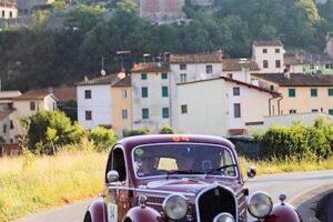 1000 MIGLIA 2021 FIAT 508 BERLINETTA AERODINAMICA CRISTIANO LUZZAGO 01