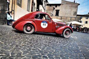1000 MIGLIA 2021 FIAT 508 BERLINETTA AERODINAMICA CRISTIANO LUZZAGO 02