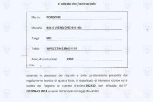 PORSCHE 944S www.cristianoluzzago.it Brescia italy (49
