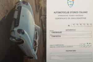 CHEVROLET CORVETTE C1 1954 www.cristianoluzzago.it brescia italy (60