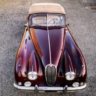 1955 Jaguar XK140 Drop Head Coupé at The Blue Room. Check my website (link in bio) for car history and details.  #cl_theblueroom #jaguarxk140 #englishcar #britishcars #oldtimer #classiccar #dropheadcoupe #vintagecar #jaguar #speed #carlovers #instacar #carcollector #drivetastefully #autodepoca #classicdriver #driveclassic #retromobile
