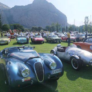Giro di Sicilia, today from Palermo to Giardini Naxos.  #girodisicilia #xk120roadster #raduniautostoriche #jaguarxk120 #jaguar #englishcar #britishcars #vintagecar #sixcilinder #speed #carpassion #englishbeauty #1952cars #drivetastefully #autodepoca #classicjaguar #voitureclassique #autoart #rarecars #classicdriver #retromobile #retrocar #oldwheels