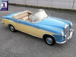 1958 Mercedes Benz 220S Convertibile at The Blue Room  #cl_theblueroom  #mblovers #1958cars  #mercedesbenz220s #convertiblecar #mbgram #mercedesbenzclassic #germanbeauty #oldtimercars