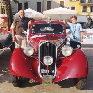 Re-enactment of the first Gran Premio d'Italia of 1921 on my Fiat Berlinetta 508. Great cars, great emoziona.  #circuitobresciamontichiari #circuitointernazionalebsmontichiari #hrcmontichiari #hrcfasciadoro #historicracingclubmontichiari #fiatberlinetta #balilla #1935 #fiatlovers #508 #gareclassiche #italianbeauty #drivetastefully #rarecars #oldtimer #carcollector #drivetastefully #regularityrace #fiatlove #autostoriche #oldwheels #asitargaoro #prewarcars