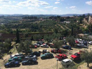 Second day at Coppa Garisenda in the awesome Siena.  #astonmartindb6 #britishcars #englishcars #tuscanlandscapes #coppagarisenda2021 #collinetoscane #carcollectors