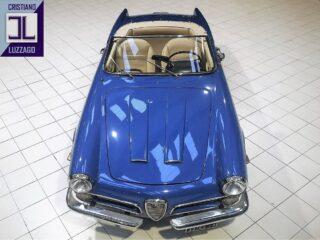 1959 Alfa Romeo 2000 Touring Spider at The Blue Room  #cl_theblueroom #alfaromeo2000spider #1959cars #italianbeauty #rarecars #oldtimer #carcollector #drivetastefully #alfalovers #autostoriche #retromobile #oldwheels #targanera
